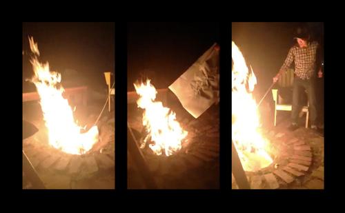 Art burn.